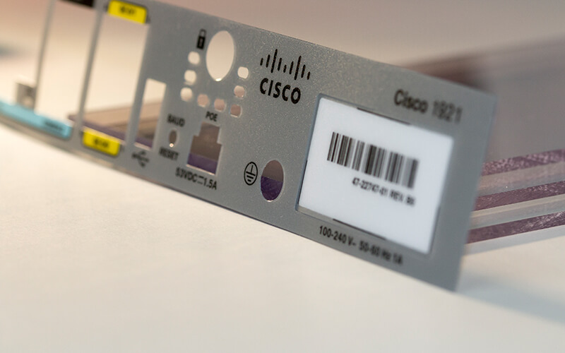 Cisco Router Screen Printed Overlay